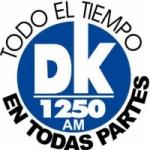 Logo da emissora Radio DK 1250 AM