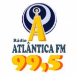 Logo da emissora Rádio Atlântica Sat 99.5 FM