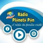 Logo da emissora Rádio Planeta Pan