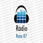 Logo da emissora Rádio Rota 87