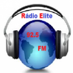 Logo da emissora Rádio Elite FM