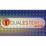 Logo da emissora Radio Dual Estéreo 89.9 FM