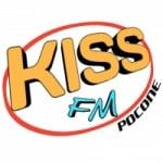 Logo da emissora Rádio Kiss FM Poconé