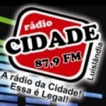 Logo da emissora Radio Cidade Luislândia 87.9 FM