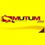 Logo da emissora Rádio Web Mutum FM