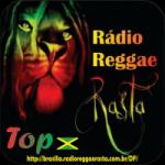 Logo da emissora Rádio Reggae Rasta Top
