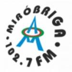 Logo da emissora Rádio Miróbriga 102.7 FM