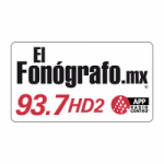 Logo da emissora Radio El Fonógrafo 93.7 FM