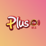 Logo da emissora Rádio Plus 91.5 FM