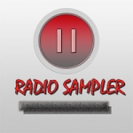 Logo da emissora Rádio Sampler