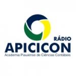 Logo da emissora Rádio Apicicon