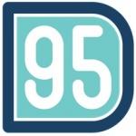 Logo da emissora Radio D95 94.9 FM