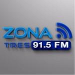 Logo da emissora Radio Zona Tres 91.5 FM