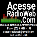 Logo da emissora Acesse Rádio Web