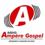 Logo da emissora Rádio Ampére Gospel