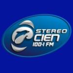 Logo da emissora Radio Stereo Cien 100.1 FM