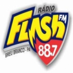 Logo da emissora Rádio Flash 88.7 FM