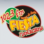 Logo da emissora Radio Fiesta Mexicana 102.3 FM