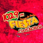Logo da emissora Radio Fiesta Mexicana 102.9 FM