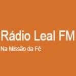 Logo da emissora Rádio Leal FM