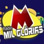 Logo da emissora Rádio Mil Glórias