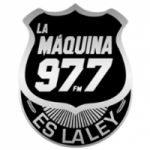 Logo da emissora Radio  La Máquina 97.7 FM