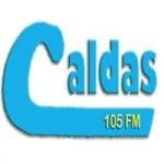 Logo da emissora Rádio Caldas 105 FM