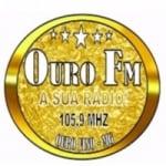 Logo da emissora Rádio Ouro 105.9 FM