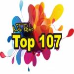 Logo da emissora Top 107