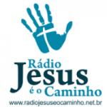 Logo da emissora Rádio Jesus é o Caminho