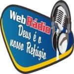 Logo da emissora Web Rádio Deus é o Nosso Refúgio