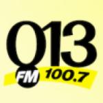 Logo da emissora Rádio 013 FM 100.7