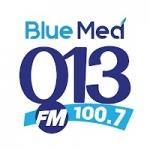 Logo da emissora Rádio Blue Med 013 FM 100.7