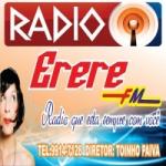 Logo da emissora Rádio Ererê 104.9 FM