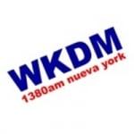 Logo da emissora WKDM 1380 AM