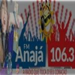 Logo da emissora Rádio Anajá 106.3 FM