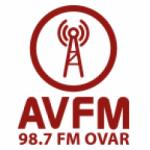 Logo da emissora Rádio AV 98.7 FM