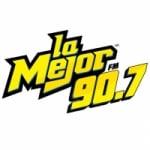 Logo da emissora Radio La Mejor 90.7 FM