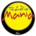 Logo da emissora Rádio Mania 98.1 FM