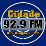 Logo da emissora Rádio Cidade  92.9 FM
