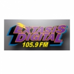 Logo da emissora Radio Éxtasis Digital 91.3 FM
