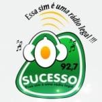 Logo da emissora Rádio Sucesso 92.7 FM