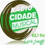 Logo da emissora Rádio Cidade Musical FM