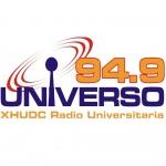 Logo da emissora Radio Universo 94.9 FM