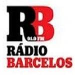 Logo da emissora Rádio Barcelos 91.9 FM