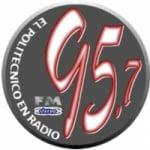 Logo da emissora Radio IPN 95.7 FM
