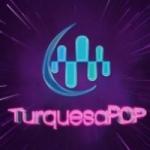 Logo da emissora Radio Turquesa Pop 102.7 FM