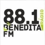 Logo da emissora Rádio Benedita 88.1 FM