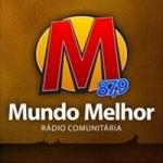 Logo da emissora Rádio Mundo Melhor 87.9 FM