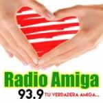Logo da emissora Radio Amiga 93.9 FM